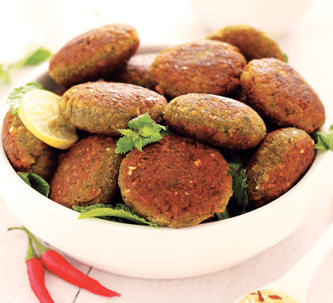 Quaker Oats Falafels With Hummus