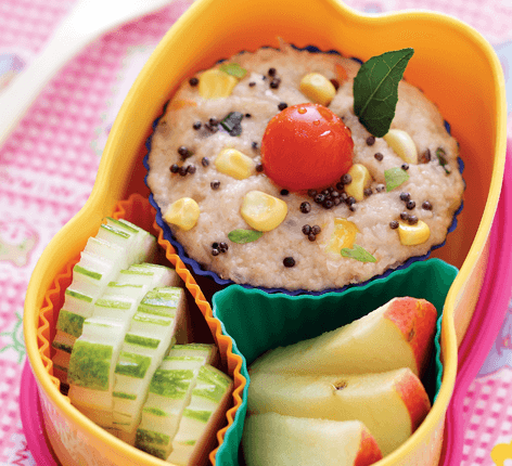 Quaker Oats Upma Tiffin