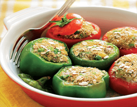 Quaker Oats Stuffed Vegetables