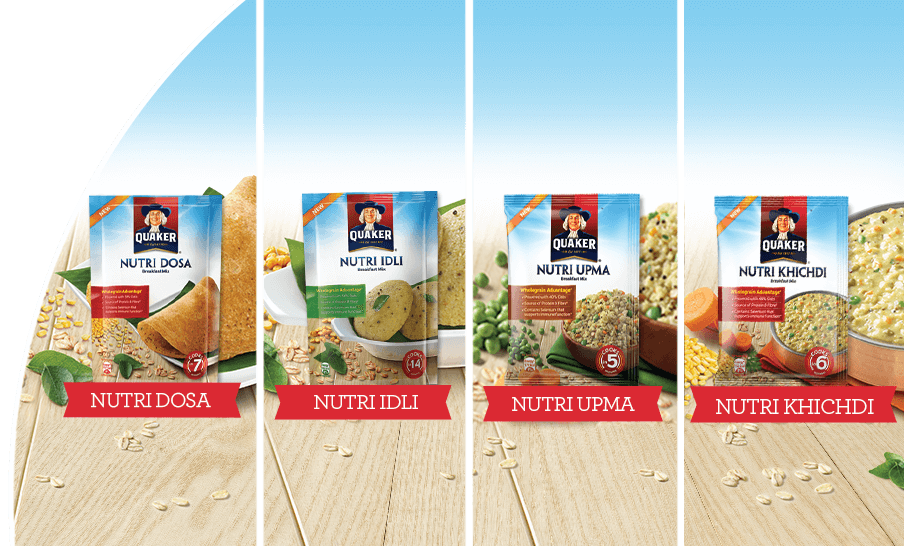 INTRODUCING QUAKER NUTRI RANGE