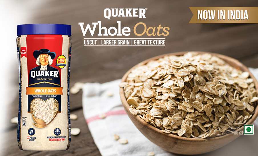 INTRODUCING QUAKER WHOLE OATS!